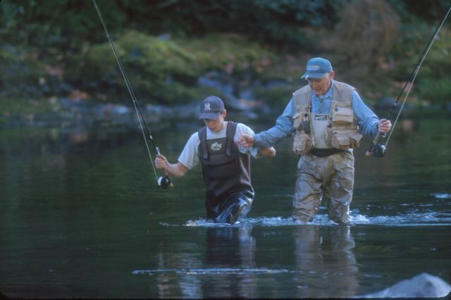 Fishing.Recreational.Grandpa.Grandson